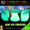 プラスチックカラー変更LEDの家具のレストランLEDの食卓