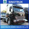 Veículo com rodas de Sinotruk HOWO 10 principal - caminhão do trator do motor para a venda
