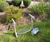 頑丈な庭のロッカーのKneelerのベンチ(HT5057J)