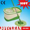 Mât en acier Joyclean Magic 360 Spin avec tête de balai à franges en microfibres (JN-205)