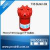 T38-89mm Thread Button Bits для Drilling
