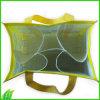 Bolso de nylon amistoso modificado para requisitos particulares de la lona de Eco del diseño para las compras