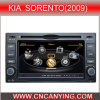 GPS, Bluetooth를 가진 KIA Sorento (2009년)를 위한 특별한 Car DVD Player. A8 Chipset Dual Core 1080P V-20 Disc WiFi 3G 인터넷 (CY-C046로)
