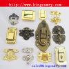 Mini coffret cadeau / verrouillage métallique / boîte en bois verrouillage métal verrouillage / boîte à bijoux
