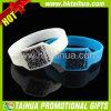 Изготовленный на заказ Wristband силикона Кодего Qr способа с после того как я напечатаны (TH-band043)