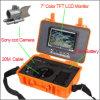 Freeshipping silberne Farbe Unterwasser-HD Sony CCD-Kamera 7  LCD-Schirm-/CCTV-Kamera/Underwater Kontrollsystem mit dem 20m Kabel