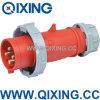 Plugue resistente vermelho do IEC 309 16A 400V (QX282)