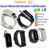 Modieuze Slimme Armband Bluetooth met Hoofdtelefoon (K2)