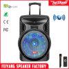 Haut-parleur portatif bon marché de chariot à usager rechargeable de Feiyang/Temeisheng/Kvg avec la lumière de bille