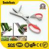 9.5 Bladen '' de Multifunctionele Schaar van de Keuken van het Kruid van 5 Blades&7