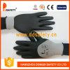 Nylon avec le gant de mousse de latex de doublure de polyester