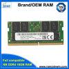 2018 nueva llegada de 16 GB DDR4 2400MHz 260clavijas Cl15 1.2V 1024MB*8 16chips de memoria RAM
