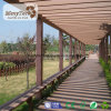 Pérgola impermeable al aire libre del jardín de los diseños modernos WPC para los sistemas/el Carport de la pérgola