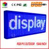 P13 15 de '' placa de mensagem programável do desdobramento do texto do sinal do diodo emissor de luz da cor cheia x 40