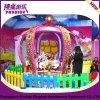 Ordinateur portable coloré Kiddie Carrousel de la Couronne de l'amusement ride avec 6 sièges