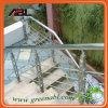 Acero inoxidable al aire libre Escaleras Baranda Diseño DD115