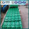 Gewölbtes Dach-Stahlblech mit glasig-glänzender Fliese