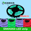 A amostra ofereceu a tira 60LEDs/M de 5050 diodos emissores de luz na decoração da iluminação