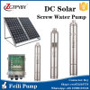 Venta caliente en bomba y el panel solares de agua de la bomba bien de agua de la Sistema Solar de Tailandia y de la bomba sumergible de la C.C. del panel solar del panel 500W