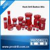 Ferramentas de perfuração de rochas Botão Rosqueado Bits T38, T45, T51, T60