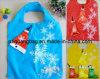 Saco de compra Foldable, saco de compra do presente do Natal, saco de compra da dobradura com tampa, cliente relativo à promoção