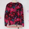 Girls를 위한 100%년 면 Fashion Colorful Print Woven Blouse