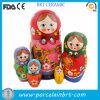 Bambola russa di ceramica classica di incastramento di Matryoshka