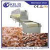 CE Standard New Condition Conveyor Máquina de secagem de microondas