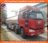 Camion lourd de réservoir de stockage de pétrole de l'acier inoxydable FAW de 8X4 25000L