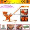 Qmr2-40 máquina para fabricação de tijolos de barro o Melhor Preço Pequenas Máquinas máquina para fabricação de tijolos de intertravamento de Cinzas