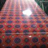 Новая конструкция Prepainted гальванизированный стальной цветок PPGI катушки