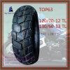 12/70-12tl 13/60-13tl schlauchloser langer Nylonmotorrad-Reifen des Leben-6pr