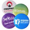 Pasador metálico Botón insignia insignias de los botones de hojalata con la impresión de logotipo, tarjetas de Pin baratos
