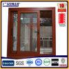 Dunkle Bronze anodisiertes schiebendes Fenster