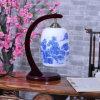 De hete Verkopende Hand van 2013 schilderde Ceramische Schemerlamp