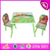 Wooden encantador Table e Chair Toy para Kids, Wooden Toy Table e Chair Set para Children, Wooden bonito Table e Chair W08g129
