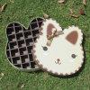 Rectángulo del caramelo del rectángulo del chocolate de la cartulina de la imagen del gatito