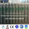 Cilindro de alta pressão do argônio 50L com padrão de Ce/DOT/ISO/EU