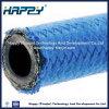 Mangueira de borracha hidráulica do SAE 100r5 com fibra de nylon tampa trançada