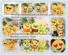 Het hete Gevulde Speelgoed Emoji van Emoji van het Stuk speelgoed van de Pluche van Emoji van de Mascotte van het Stuk speelgoed van de Baby van het Kussen van Emoji van de Verkoop Zachte Pluche