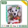 Weihnachtsnettes Punkt-Hündchen und wenig Bären-Geschenk-Papierbeutel