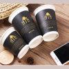 Pocas ganancias 8oz papel desechable tazas de café con Imprimir