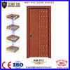 Porte de salle de bains de porte de chambre à coucher de PVC de forces de défense principale de qualité