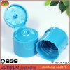 frasco distribuidor plástico do champô do tampão de parafuso da parte superior da aleta de 22/410mm