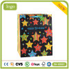 Geburtstag-Farben-Stern-Kleidung bereift Spielzeug-Supermarkt-Geschenk-Papierbeutel