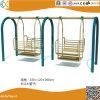 Im Freienmetallschwingen-Stuhl für Kinder