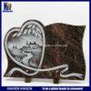 Piastre commemorative con la riga disegno dell'incisione