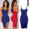 Reizvolles Sleeveless Kleid Bodycon Cocktailparty-Kleid Clubwear für Frauen