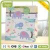 Sacs en papier enduits de cadeau d'art animal d'éléphant d'enfants