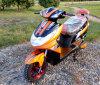 Scooter électrique d'image gentille et de prix bon marché avec l'option de pouvoir de 60V 1000W